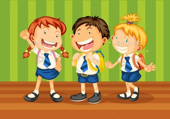 School Kids - People Characters