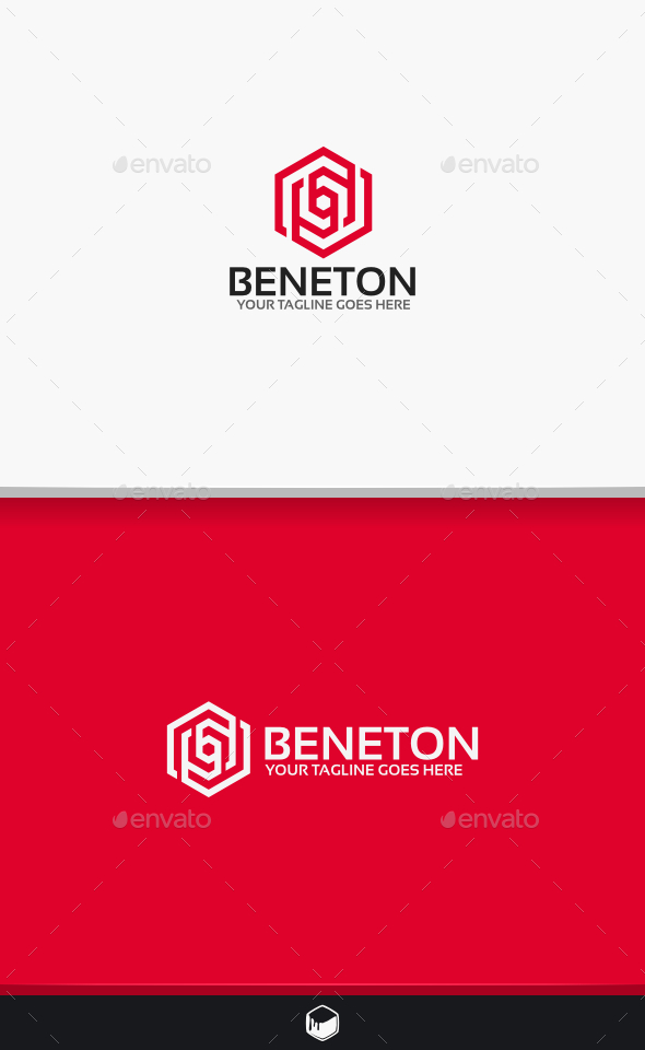 Beneton Logo - Vector Abstract