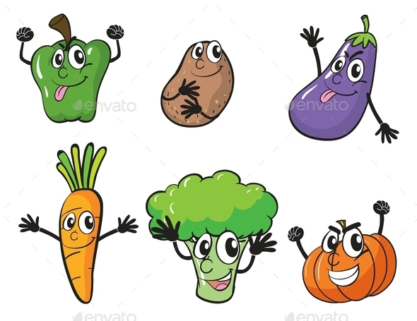 Various Vegetables - Miscellaneous Vectors