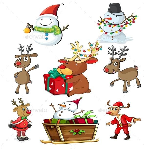 A Set of Christmas Designs - Christmas Seasons/Holidays
