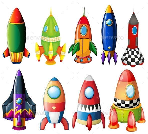 Colorful Rockets - Communications Technology