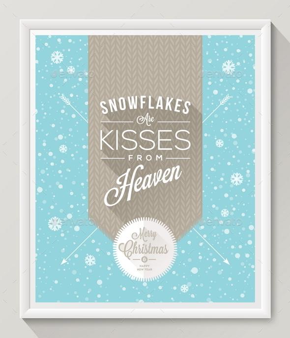 Christmas Design Poster - Christmas Seasons/Holidays