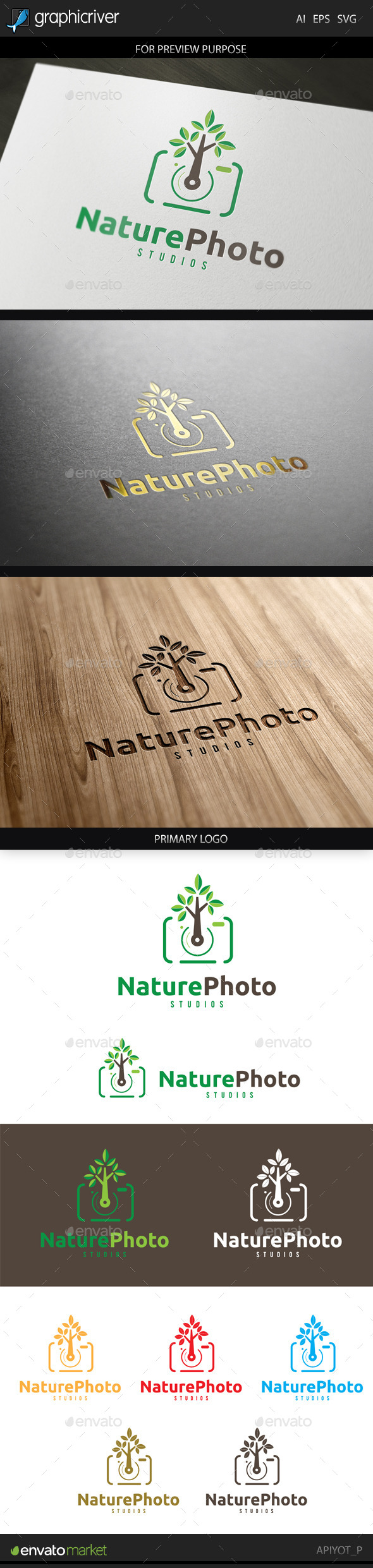 Nature Photo Logo - Objects Logo Templates