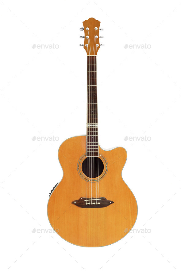 Acoustic Guitar - Stock Photo - Images