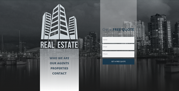 Real Estate / Agency / Multipurpose Muse Template
