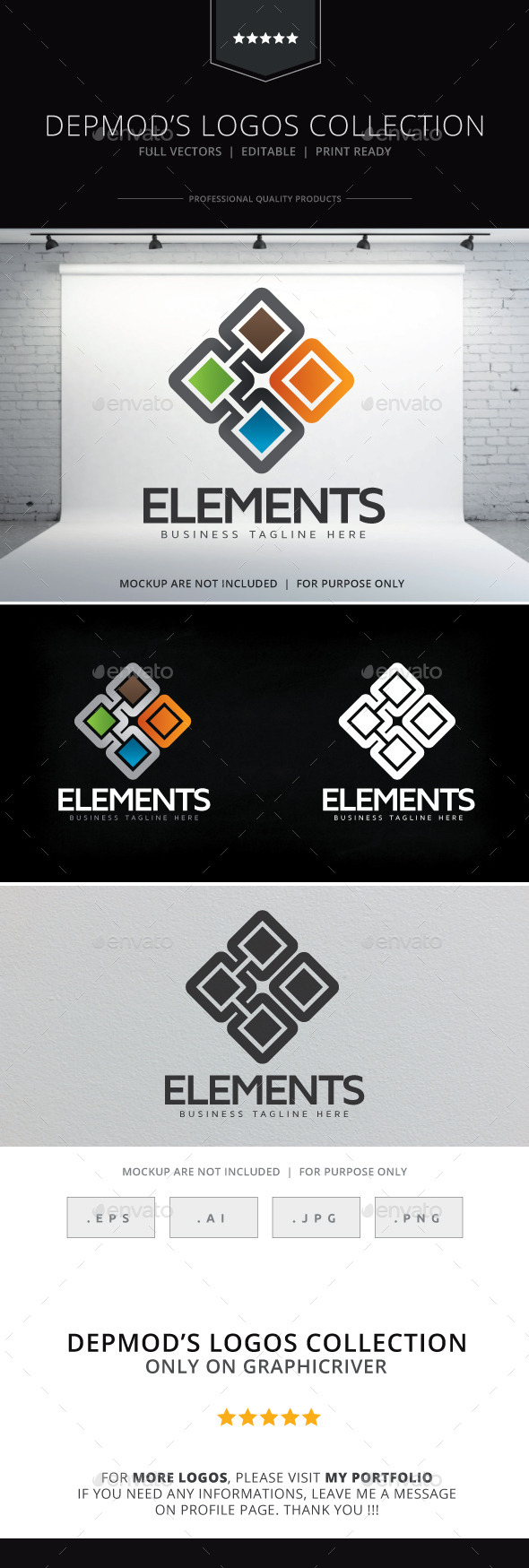 Elements V.02 Logo - Symbols Logo Templates