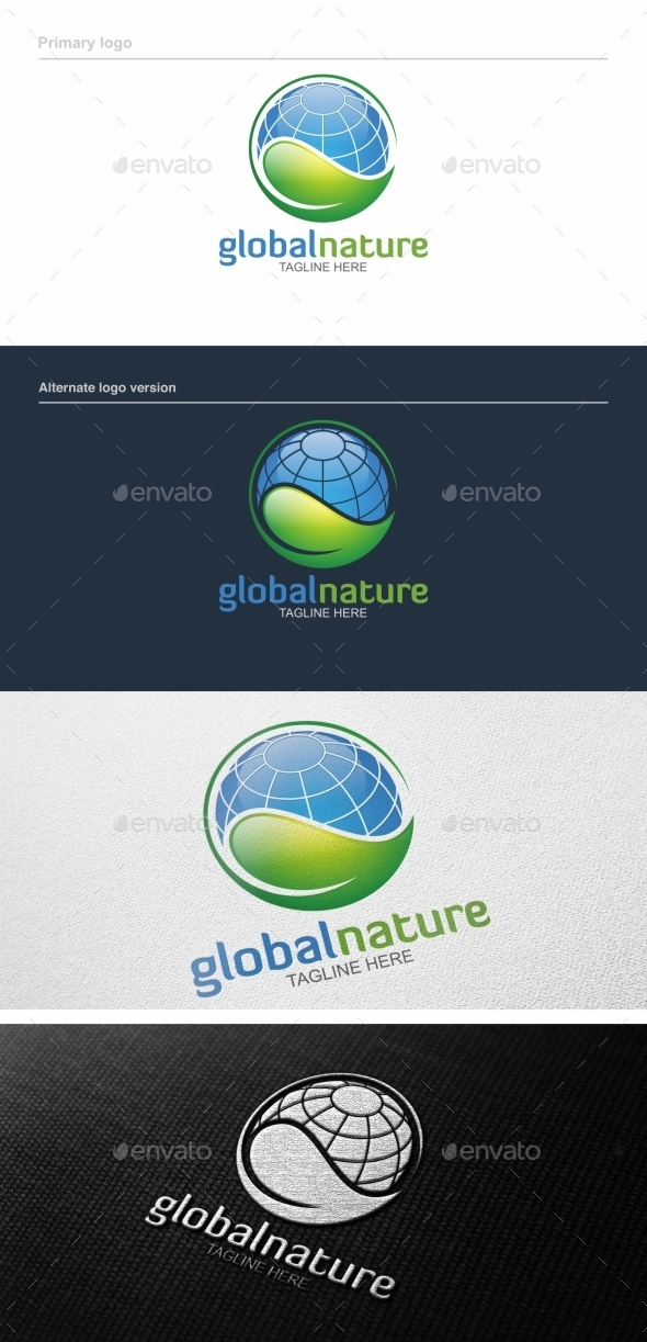 Global Nature - Logo Template - Nature Logo Templates