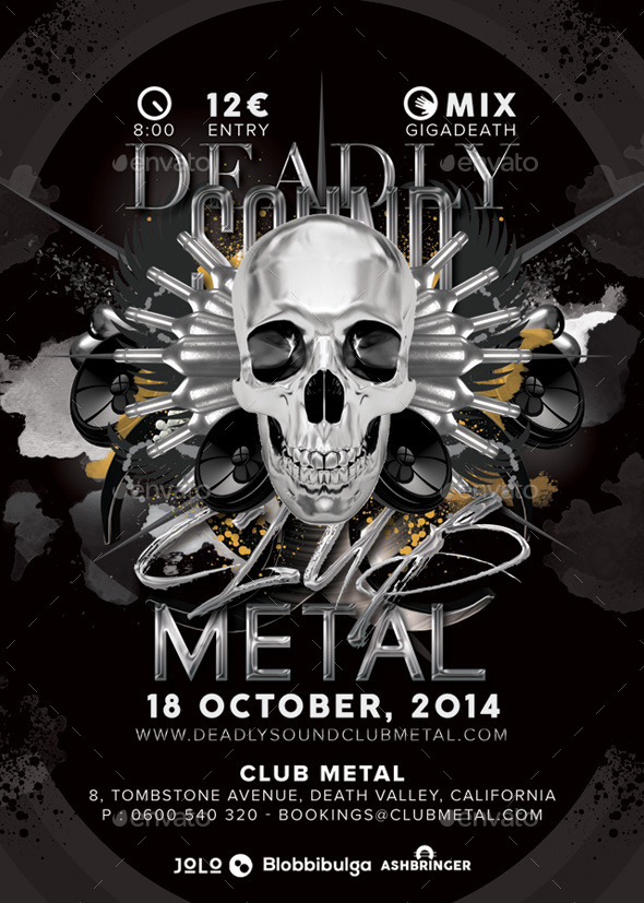 Deadly Sound Club Metal Party - Clubs & Parties Events
