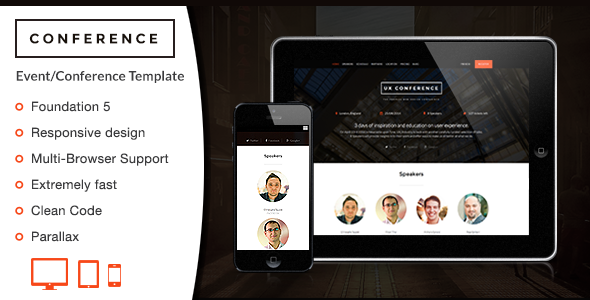 Conference - HTML Template - Events Entertainment