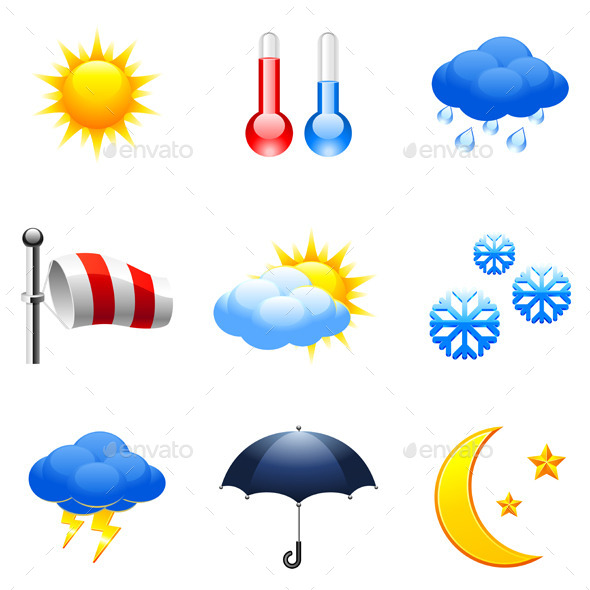 Weather Icons - Nature Conceptual