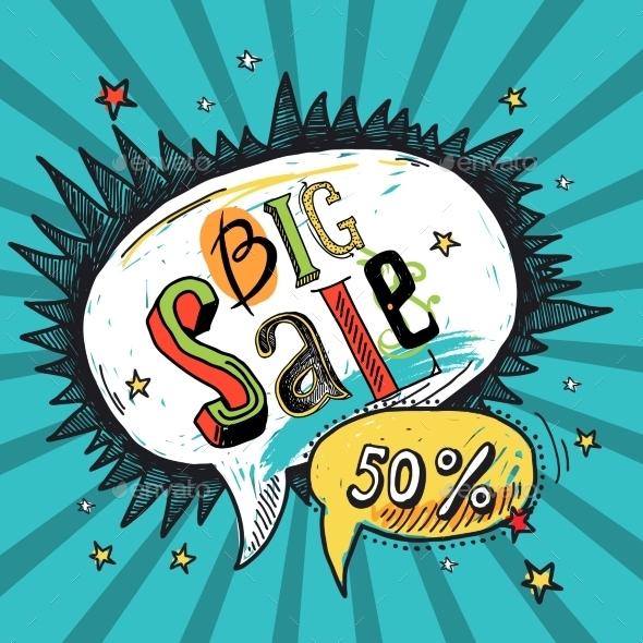 Sale speech bubble - Retail Commercial / Shopping