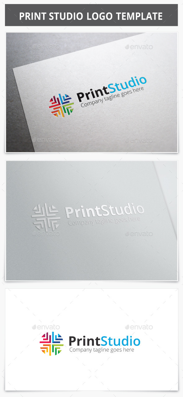 Print Studio Logo - Vector Abstract