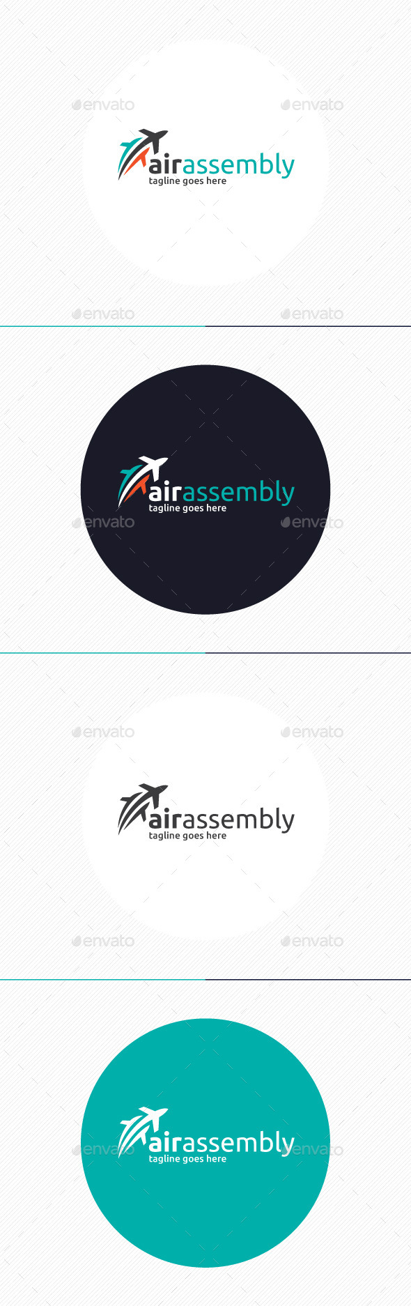 Air Assembly Logo - Objects Logo Templates
