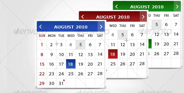 Calendar - Miscellaneous Graphics