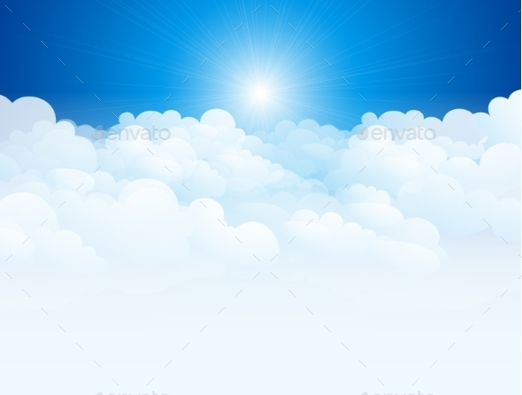 Blue Sky Background - Nature Conceptual