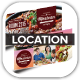 Mexican Restaurant Promotion Location Board - GraphicRiver Item for Sale