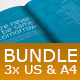 Business Brochure Bundle - InDesign Templates - GraphicRiver Item for Sale