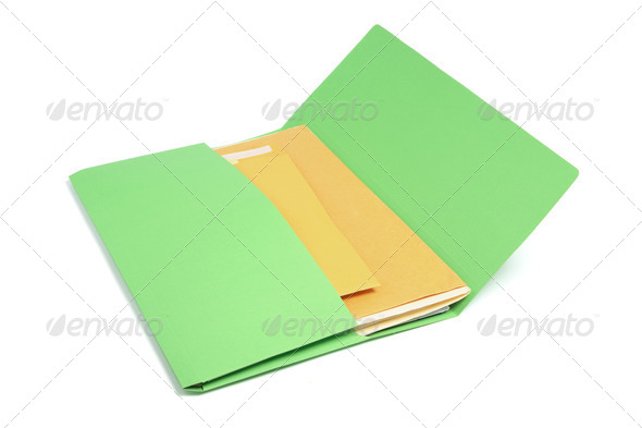 Document Folder - Stock Photo - Images