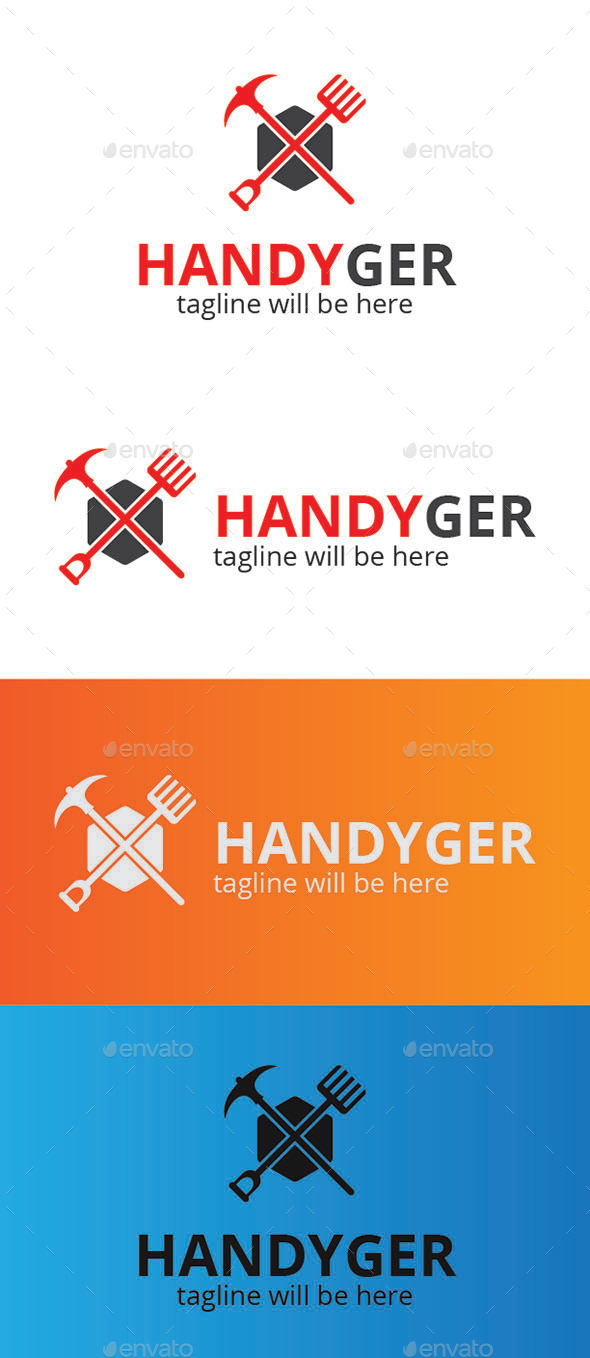 Handy Ger - Logo Templates