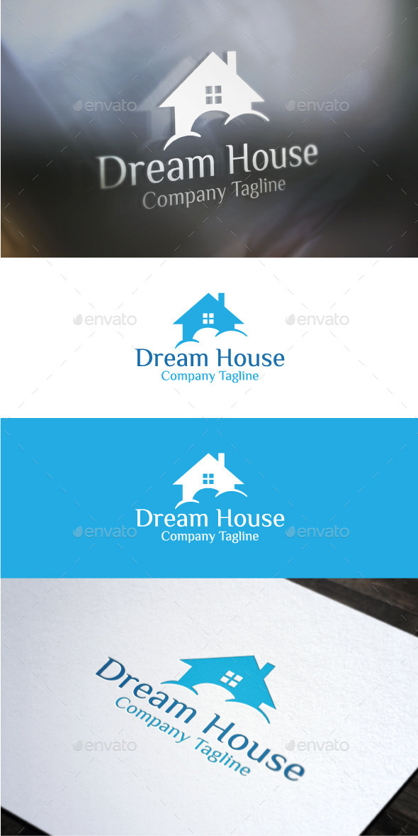 Dream House - Buildings Logo Templates