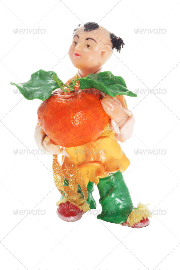 Chinese Figurine - Stock Photo - Images