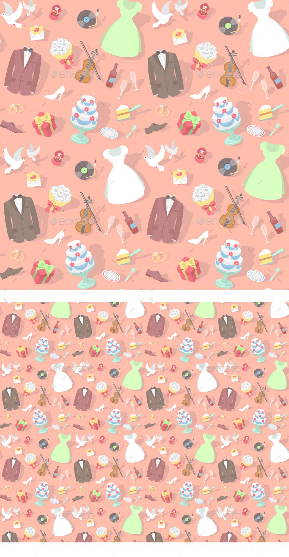 Wedding Pattern  - Weddings Seasons/Holidays