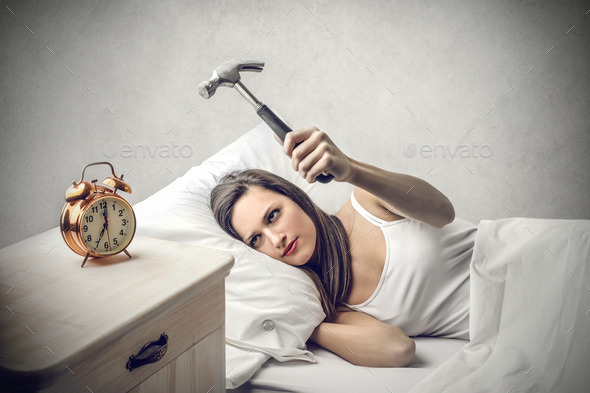 Don't want to wake up - Stock Photo - Images