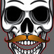 Skull Mustache  - GraphicRiver Item for Sale
