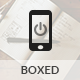 Boxed Mobile | Mobile Template - ThemeForest Item for Sale