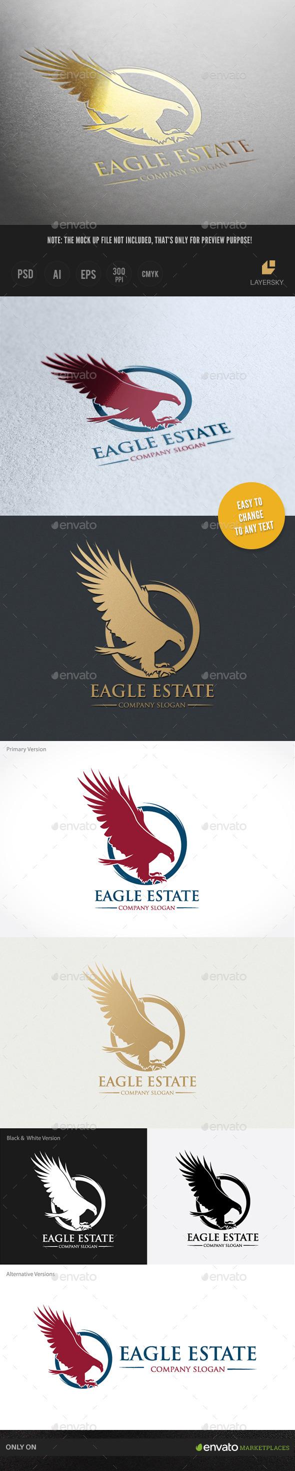 Eagle Estate - Crests Logo Templates
