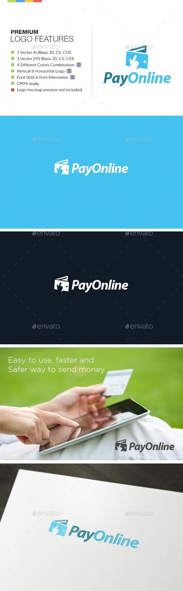 Online Payment Logo - Symbols Logo Templates