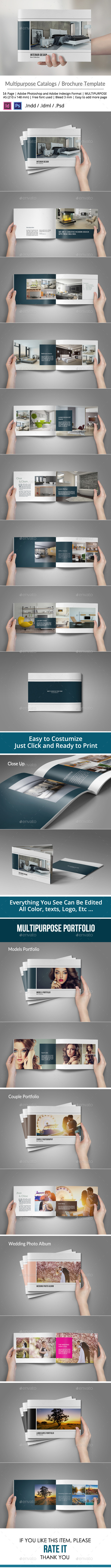 Multipurpose Brochure or Portfolio Album - Catalogs Brochures