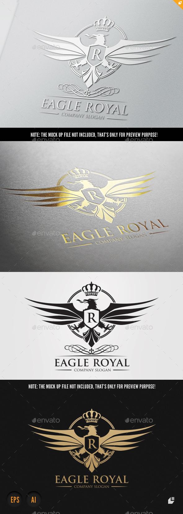 Eagle Royal - Crests Logo Templates