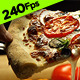 Pizza Slice with Dripping Cheese - VideoHive Item for Sale