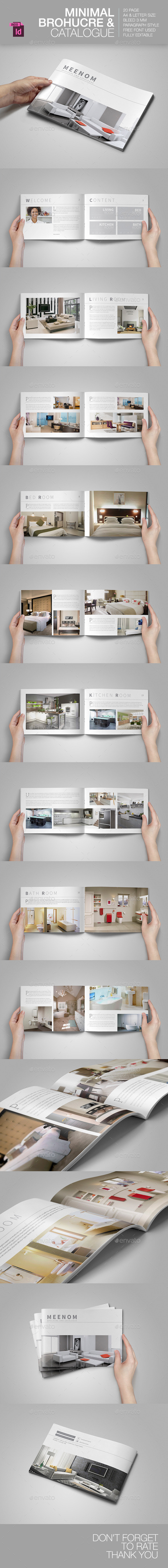 Minimal Brochure & Catalogue - Brochures Print Templates