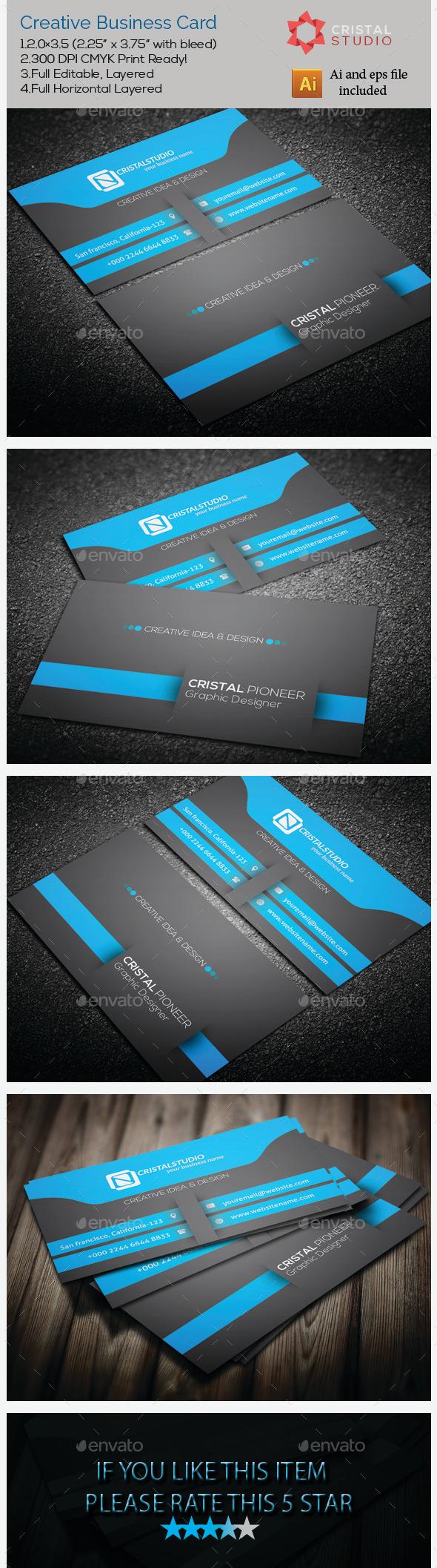Creative & Seiram Business Card - Creative Business Cards