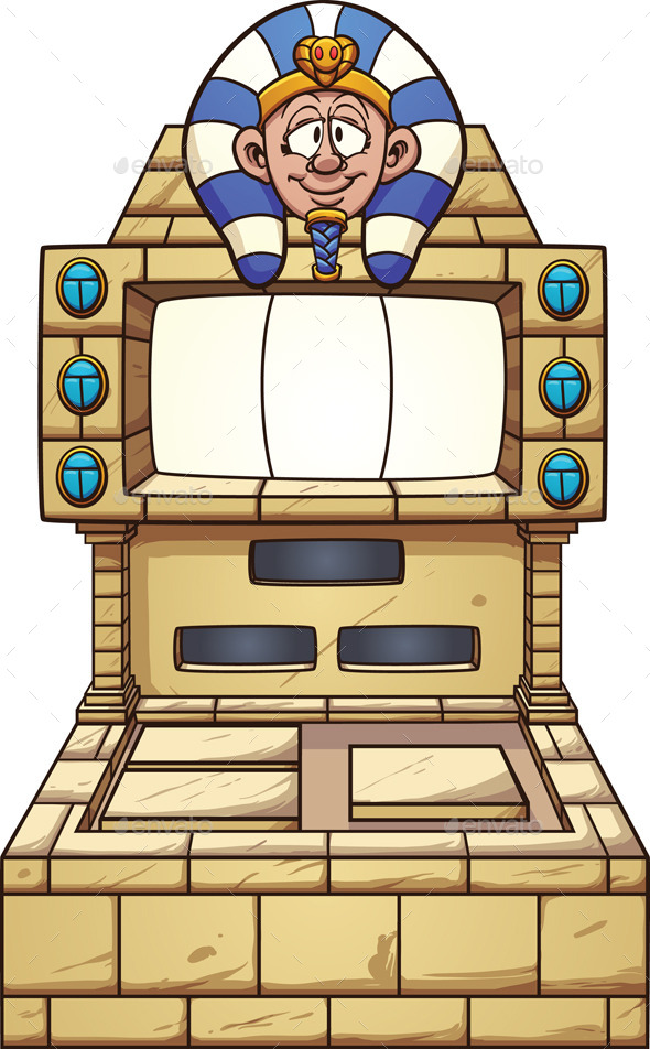 Egyptian Slot Machine - Miscellaneous Conceptual