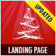 Landing Page for Christmas Offer or Portfolio - ThemeForest Item for Sale