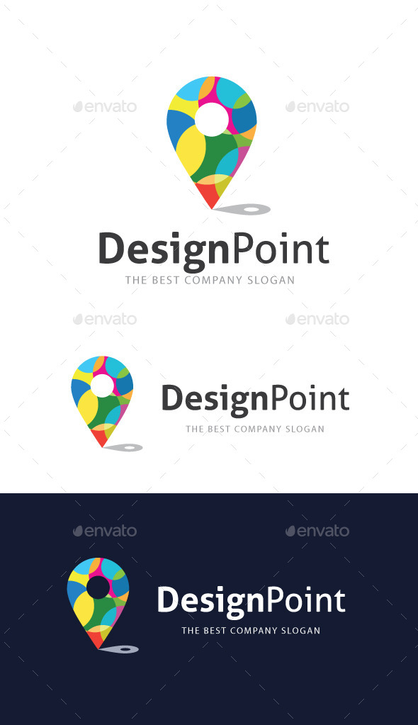 Design Point Logo - Abstract Logo Templates