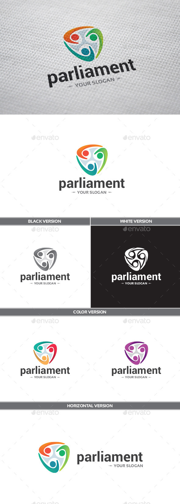 Parliament Logo - Objects Logo Templates