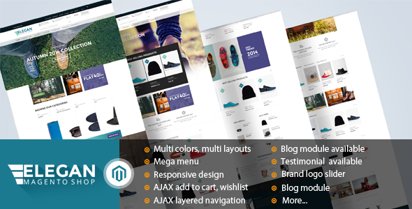 Elegan – Fashion Responsive Magento Theme