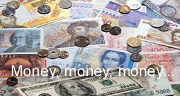 BANK - money, money, money...