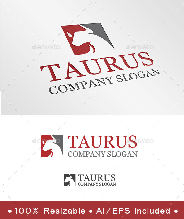 Taurus Logo - Animals Logo Templates