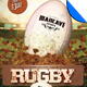 Rugby Game Day Flyer Template - GraphicRiver Item for Sale