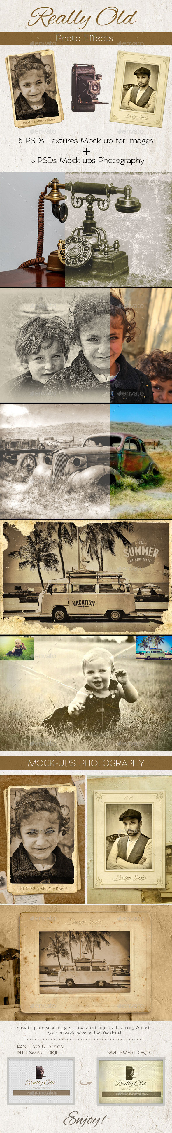 Really Old Photo Effects - Artistic Photo Templates