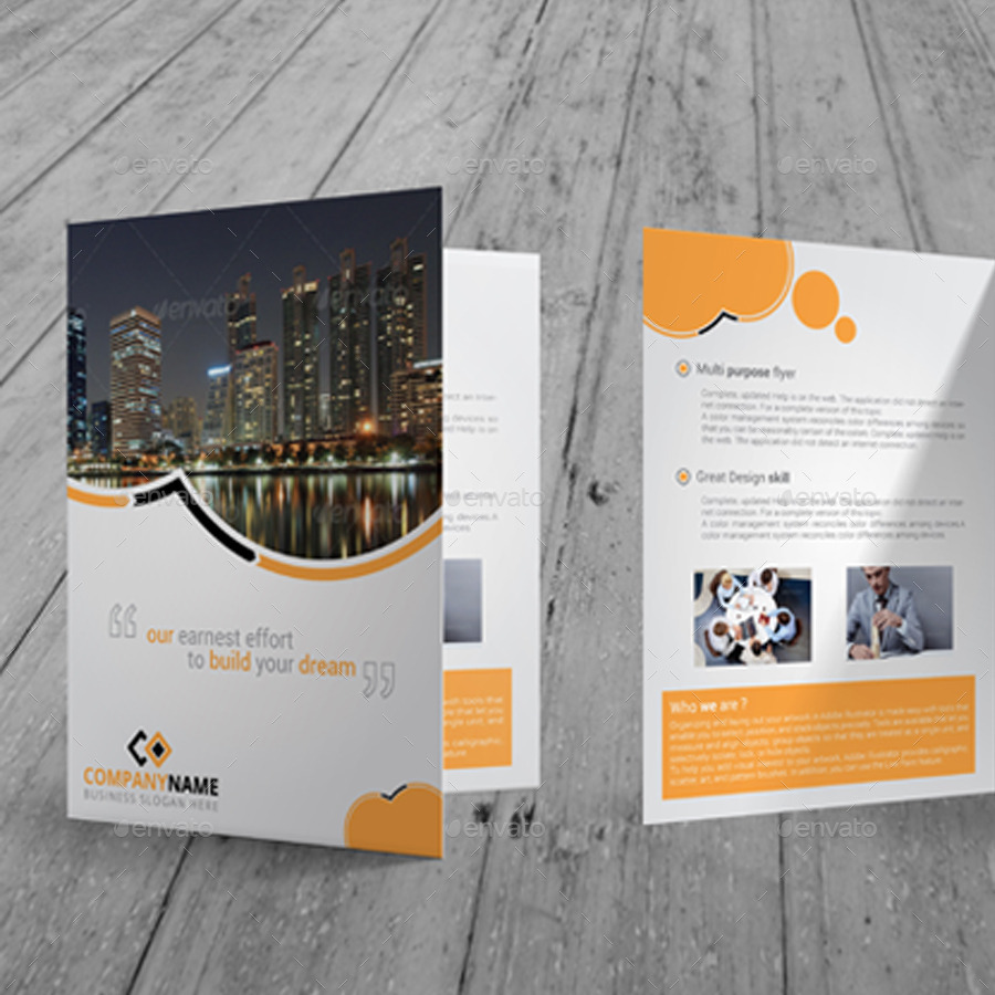 Elegant Real Estate Bi Fold Brochure   Corporate Brochures. 01_Preview1  02_01_Preview2 03_closeup 04_other View ...