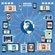 Internet Communication.  - GraphicRiver Item for Sale
