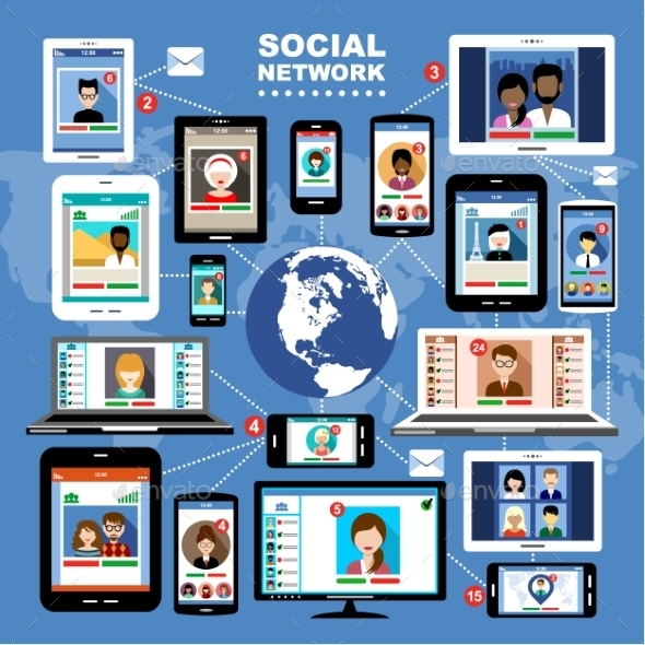 Social Networks. - Web Technology