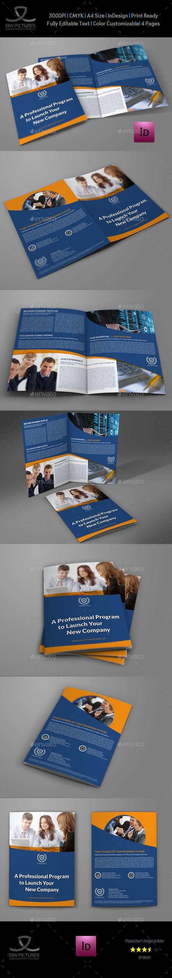 Company Brochure Bi-Fold Template Vol.35 - Corporate Brochures