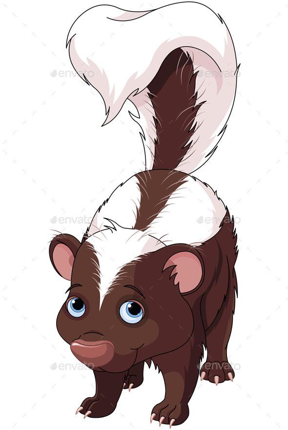Skunk - Animals Characters